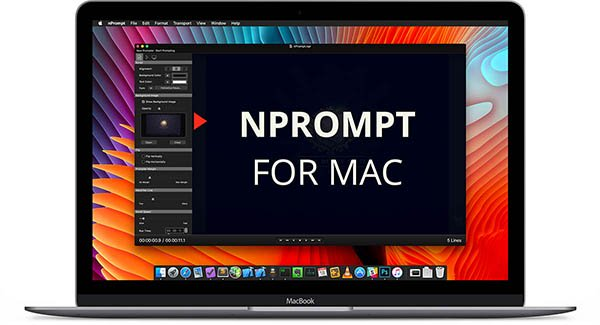 nPrompt teleprompter for mac
